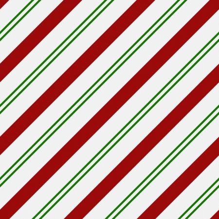 Rood, Groen en wit gestreepte stof achtergrond die naadloos en herhaalt Stockfoto - 15520006