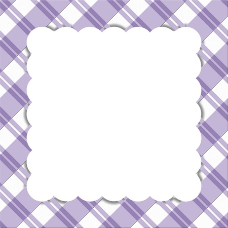 Purple striped celebration frame for your message or invitation with copy-space in the middle Stock Photo - 15519988