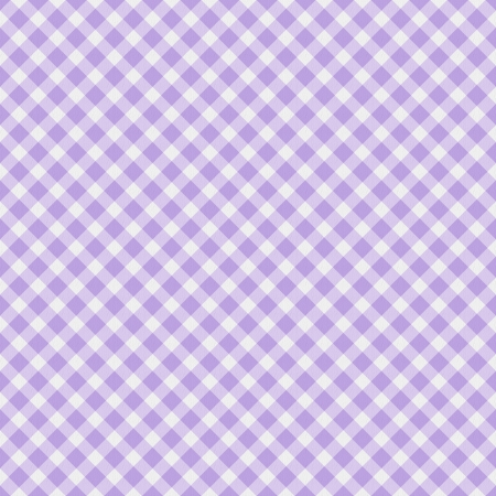 gingham: A light purple gingham fabric  background that is seamless Stock Photo