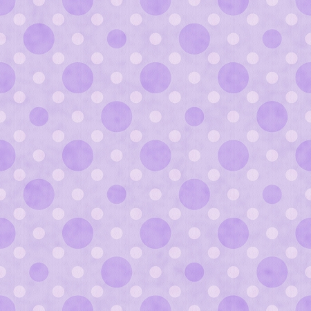 Purple and White Polka Dot Fabric Background  that is seamless and repeats