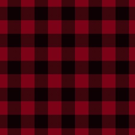 plaid: Red and Black Plaid Fabric Background that is seamless and repeats