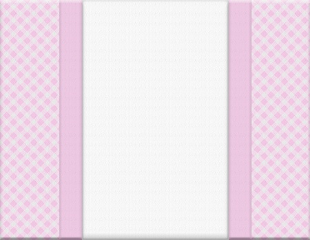 Pink checkered celebration frame for your message or invitation with copy-space in the middle Stock Photo - 15481445
