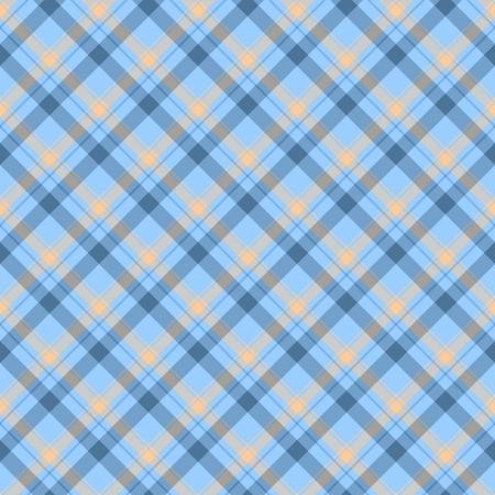 lineas verticales: Antecedentes Plaid de tela azul y beige que es transparente y se repite Foto de archivo