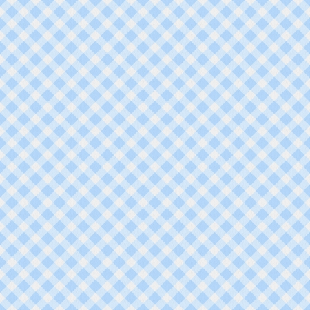 gingham: A light blue gingham fabric  background that is seamless