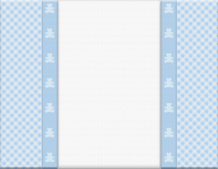 Blue checkered celebration frame for your message or invitation with copy-space in the middle Stock Photo - 16282845