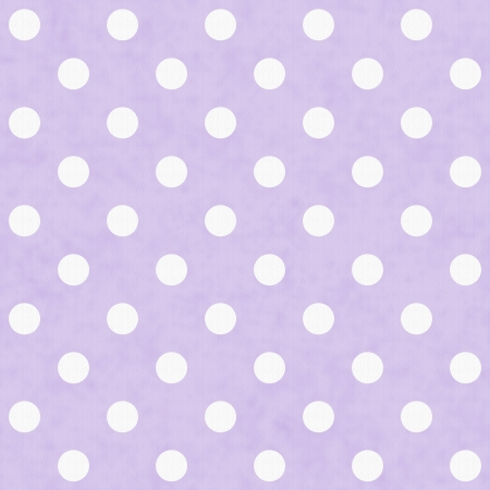 mauve: Purple and White Polka Dot Fabric Background  that is seamless and repeats