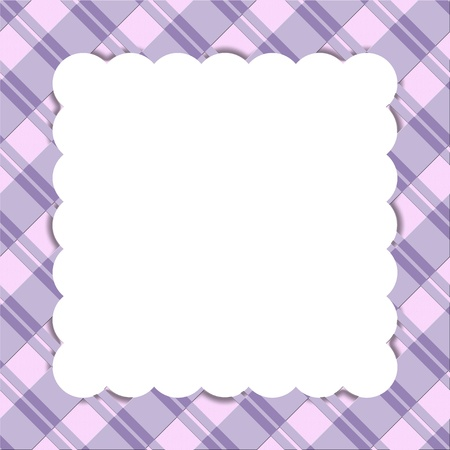 Purple striped celebration frame for your message or invitation with copy-space in the middle Stock Photo - 16282832