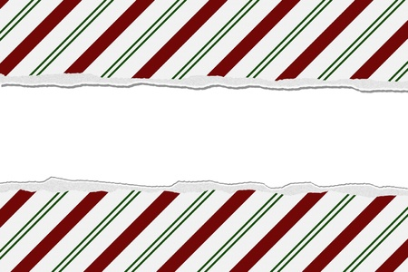 Christmas Candy Cane Striped background for your message or invitation with copy-space Stock Photo - 16464958