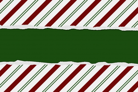 Christmas Candy Cane Striped background for your message or invitation with copy-space Stock Photo - 16582680