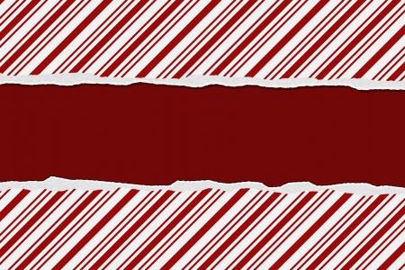 Kerst Candy Cane Gestreepte achtergrond voor uw bericht of uitnodiging met kopie-ruimte Stockfoto