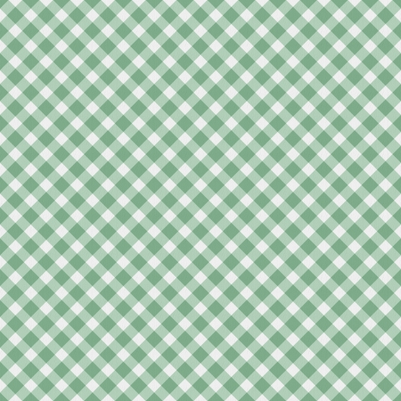 gingham: A light green gingham fabric  background that is seamless