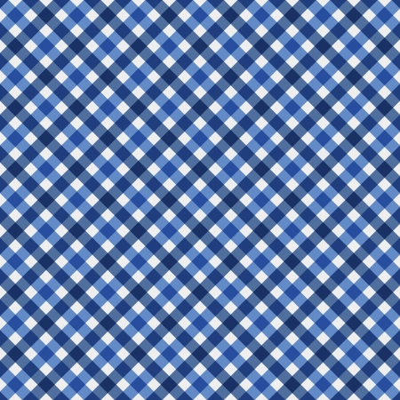 navy blue background: Navy Blue Gingham Fabric Background that is seamless and repeats