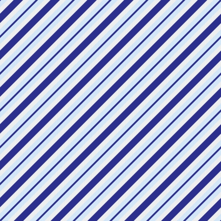 diagonal: Light and dark blue striped fabric background that is seamless