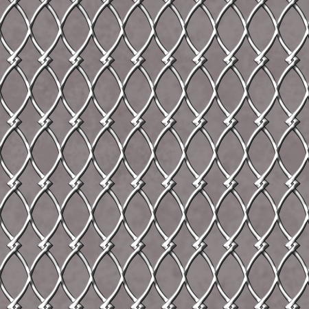 vintage background: Chain Linked Fence Background that is seamless and repeats