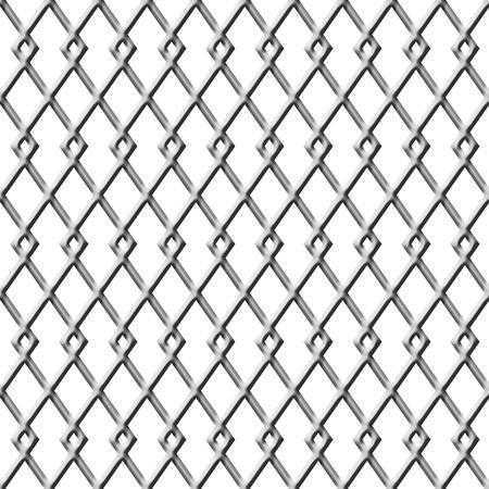 chainlinked: Chain Linked hek achtergrond dat is naadloos en herhalingen