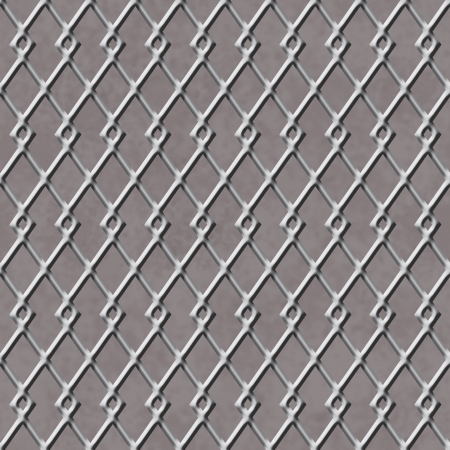 Chain Linked Fence Background that is seamless and repeats Stock Photo - 19291869