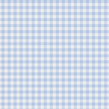 gingham: A pastel blue gingham fabric background that is seamless