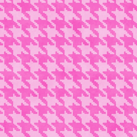 hounds: Pink Hounds Tooth textured Fabric Background that is seamless and repeats Stock Photo