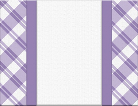 Purple Striped Frame for your message or invitation with copy-space in the middle Stock Photo - 20422698