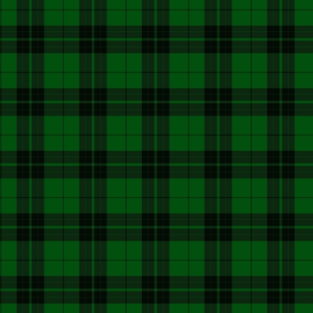 Green and Black Plaid Fabric Background that is seamless and repeats photo