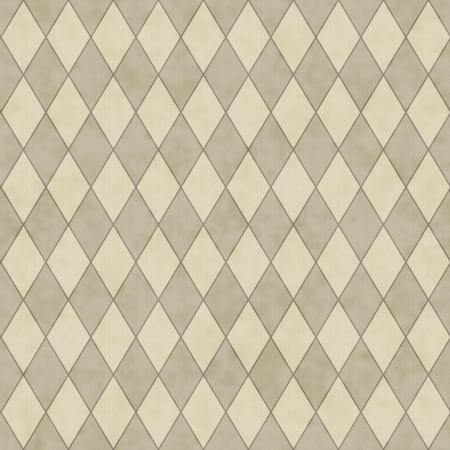 ecru: Ecru Diamond Shape Fabric Background that is seamless and repeats