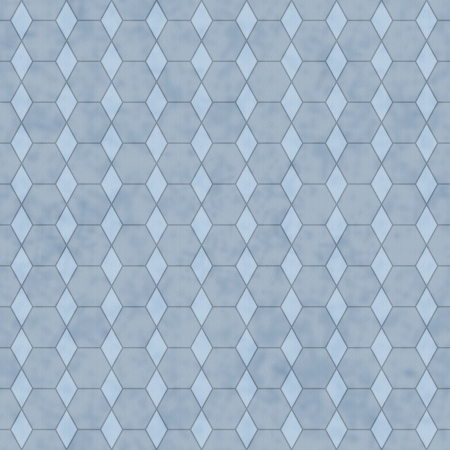 honey comb: Blue Honey Comb Fabric Background that is seamless and repeats