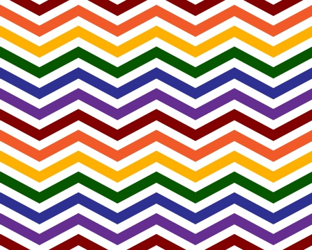 bisexual: Gay Pride Colors in a Zigzag Pattern Background that is seamless and repeats Stock Photo