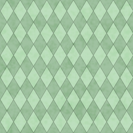 Green Diamond Shape Fabric Background that is seamless and repeats photo