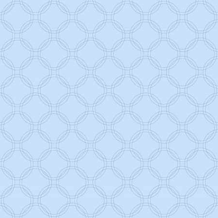interlaced: Blue Interlaced Circles Textured Fabric Background that is seamless and repeats