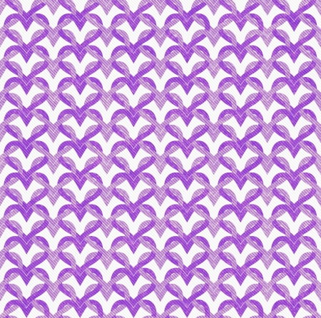 Purple Interlaced Circles Textured Fabric Background that is seamless and repeats