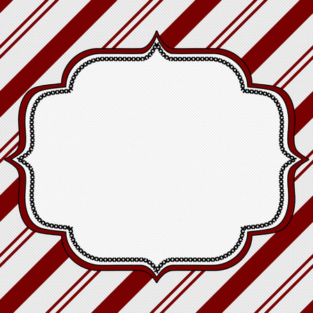 Candy Cane Christmas Background with center copy-space, Christmas Time Background photo