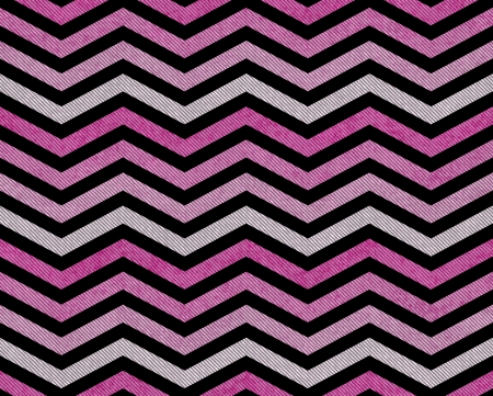 Pink, Gray and Black Zigzag Textured Fabric Background that is seamless and repeats photo