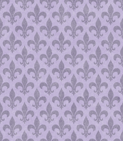 fleur: Purple Fleur De Lis Textured Fabric Background that is seamless and repeats