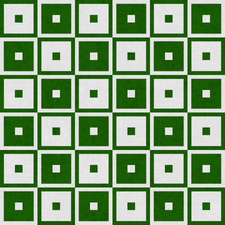 Green Tapestry Square Textured Fabric Background that is seamless and repeats Stock Photo - 23536497