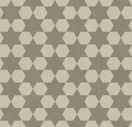 david brown: Beige Hexagon Patterned Textured Fabric Background that is seamless and repeats