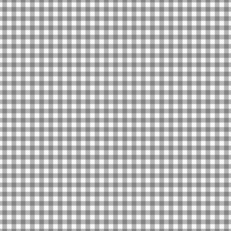 gingham: Gray Gingham Fabric that is seamless and repeats Stock Photo