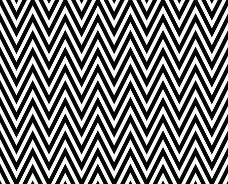 Dunne zwarte en witte horizontale Chevron gestreept geweven stof die is naadloos en herhalingen