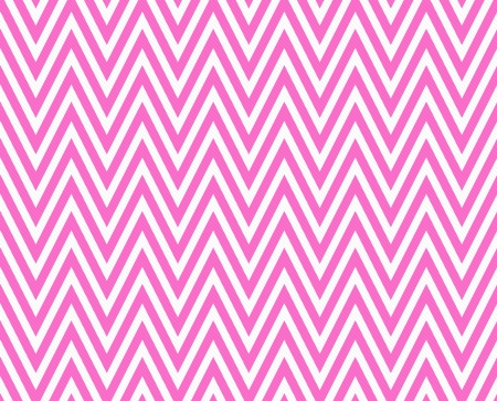 Thin Bright Pink and White Horizontal Chevron Striped Textured Fabric Background that is seamless and repeats photo