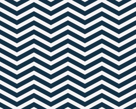 azul marino: Azul marino y blanco Zigzag textura de fondo de la tela que es perfecta y repeticiones