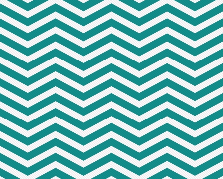 zig zag: Dark Teal and White Zigzag Textured Fabric Background that is seamless and repeats Stock Photo
