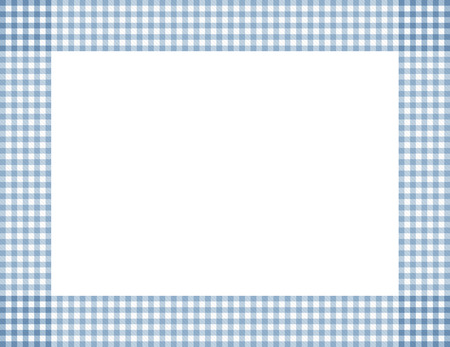 Blue Gingham with center isolated Stock Photo - 24870171
