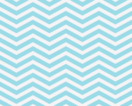 Teal and White Zigzag Textured Fabric Background that is seamless and repeats