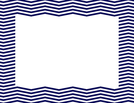 navy blue background: Navy Blue Chevron Frame Background with center isolated for copy-space, Navy Blue Chevron Frame Stock Photo