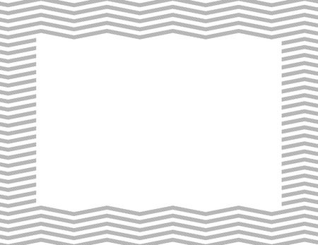 gray: Gray Chevron Frame with center isolated for copy-space, Gray Chevron Frame Stock Photo