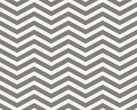 Gray and White Zigzag Textured Fabric Background that is seamless and repeats Foto de archivo