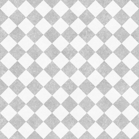 gray: Pale Gray and White Diagonal Checkers Textured Fabric Background that is seamless and repeats Stock Photo