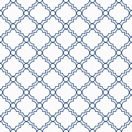 azul marino: Azul y blanco decorativo diseño con textura de fondo de la tela que es perfecta y repeticiones