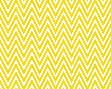 Dunne Heldere Gele en witte horizontale Chevron gestreept geweven Achtergrond van de Stof dat is naadloos en herhalingen