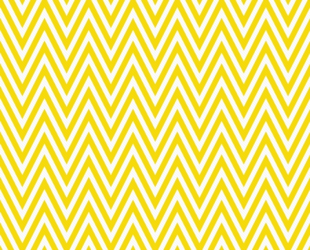 Thin Bright Yellow and White Horizontal Chevron Striped Textured Fabric Background that is seamless and repeats