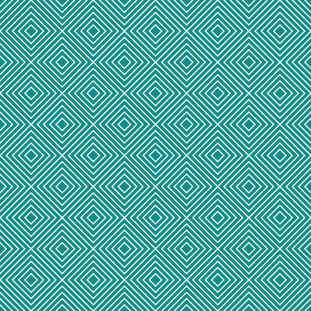 repeatable: Teal and White Diamonds Tiles Pattern Repeat Background that is seamless and repeats